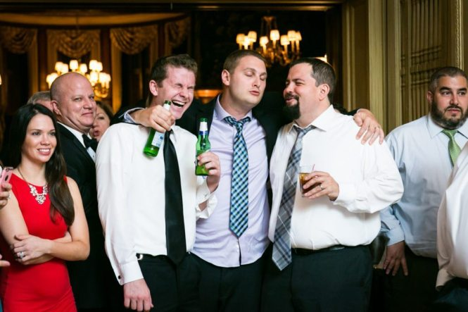 Guests at a Columbus Citizens Foundation wedding by NYC wedding photojournalist, Kelly Williams