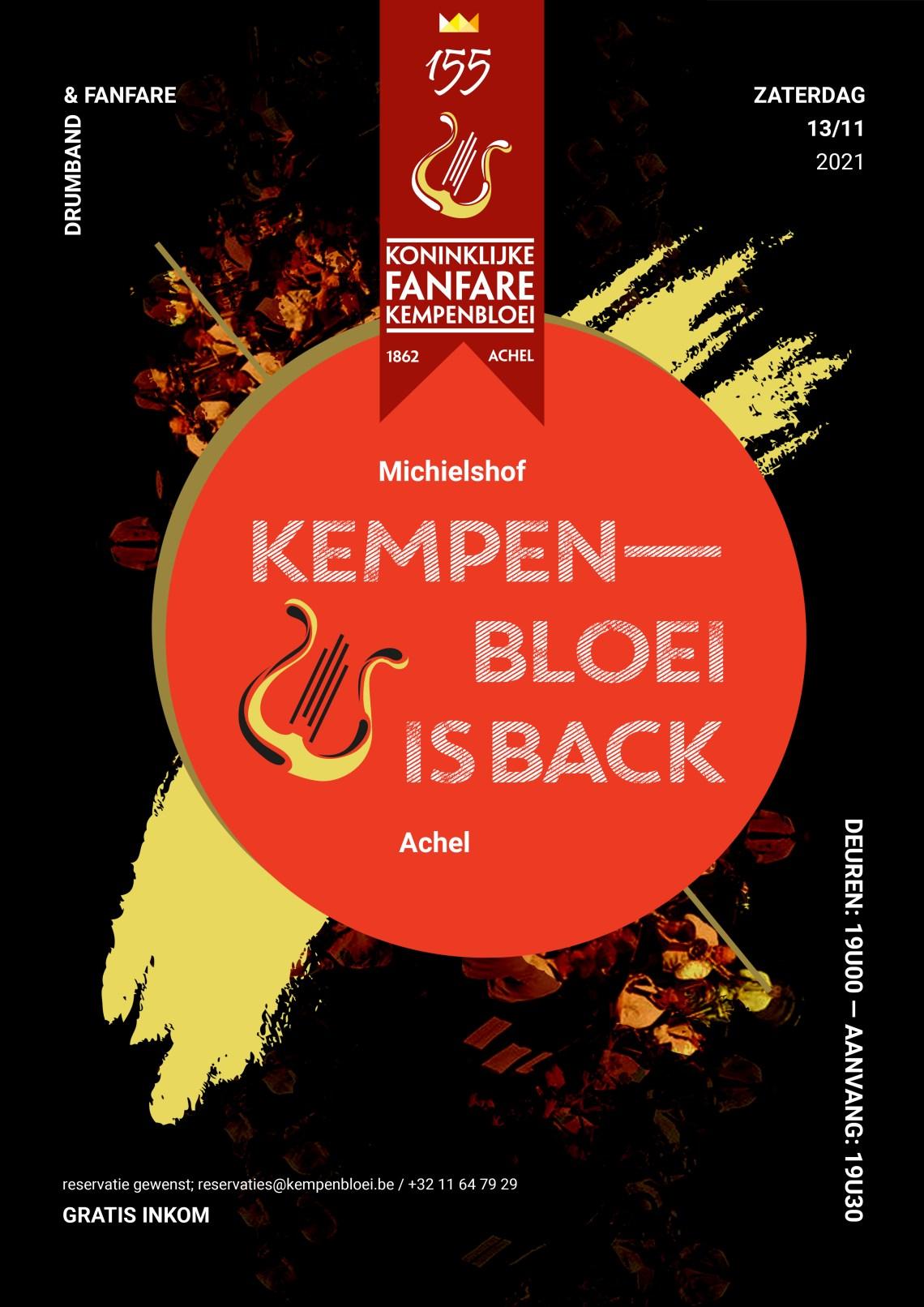 Kempenbloei is Back
