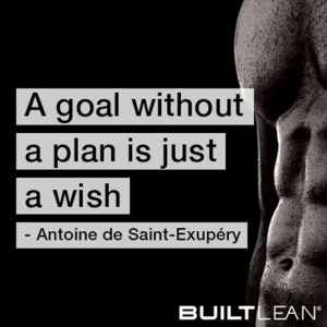 A goal without a plan is just a wish. | Plan a Workout