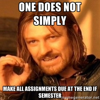 Another Boromir meme.