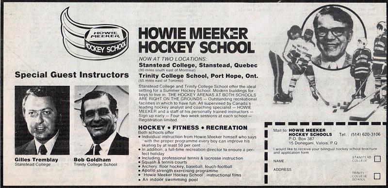 Vintage Ad #1,703: Learn Hockey the Howie Meeker Way