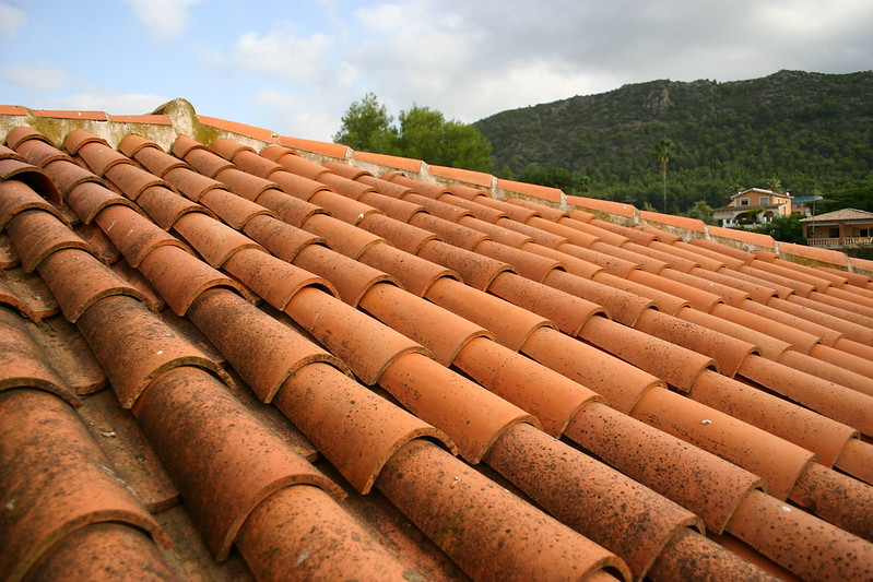 Tejas which is Spanish for roof tile, commonly used here in México.