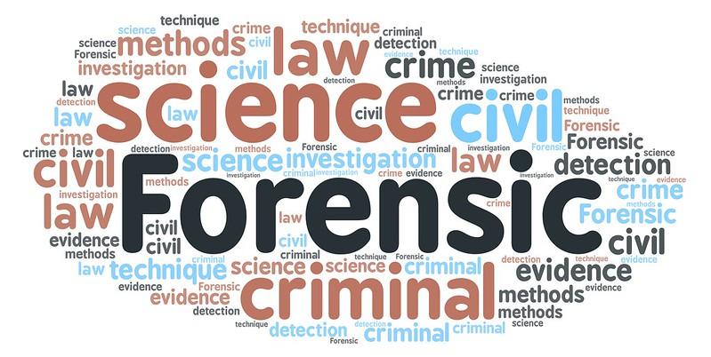 Wordcloud focused on Forensic.