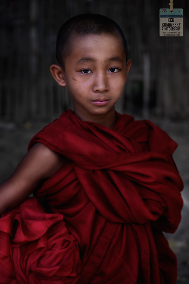 Young Monk in Myanmar