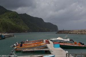 Le nouveau port tout neuf de Grand-Rivière