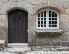 Roscoff : une vielle demeure comme il y en a tant dans la ville