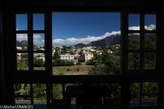 La vue depuis notre hôtel