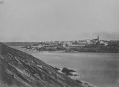 Le Conquet vu de Kermorvan en 1873