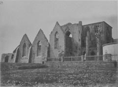 L'abbaye Saint-Mathieu en 1873