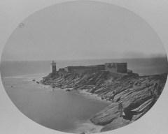 La pointe de Kermorvan en 1873