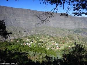 Vue sur La Nouvelle depuis le plateau Chêne