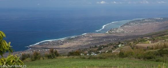 Le lagon de La Réunion vu ... du ciel