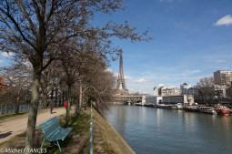 Paris - île aux Cygnes