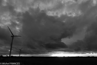 Les éoliennes résistent au vent