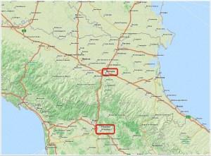 Bologne Florence par la route et par la montagne