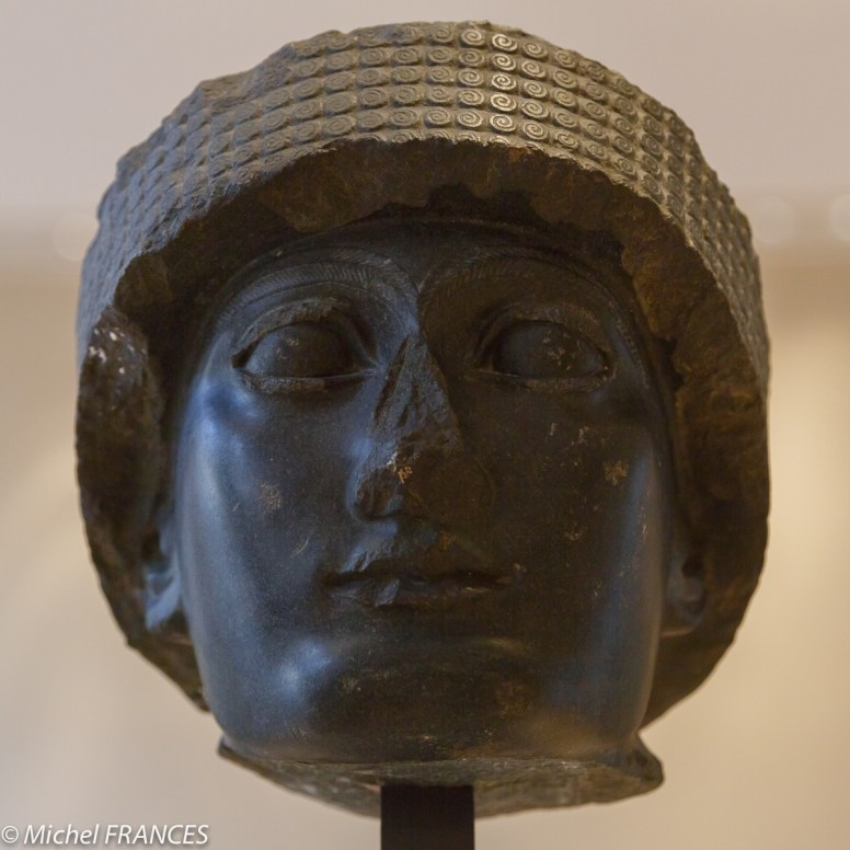 un sculpture du 3 ème millénaire avant JC