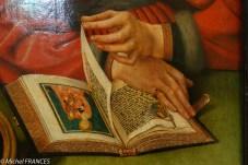 un livre d'heure richement décoré