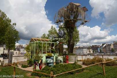 Dans la ville, plusieurs jardins éphémères