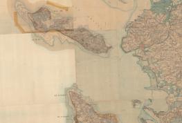 Carte d'État-Major établie entre 1820 et 1861