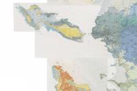 Carte géologique : données du BRGM sur un vieux fond IGN (il n'y a pas le pont qui mène à l'île de Ré !)