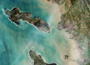 Une synergie française par l'ESA (image Sentinel 2A)