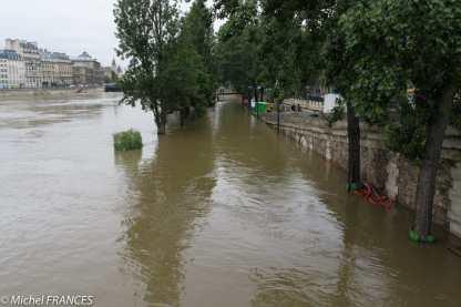 La Seine en crue