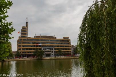 Place Flagey à Ixelles, la Maison de la Radio