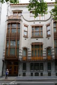L'Hôtel Solvay, avenue Louise, réalisation de Horta