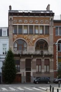 L'Hôtel Ciamberlani de l'architecte Paul Hankar