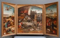 La tentation de Saint-Antoine de Hiéronimus Bosch (enfin, de son atelier !)