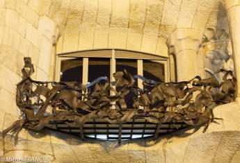 Un balcon ouvragé