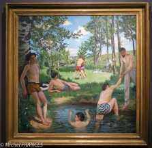 Frédéric Bazille - Scène d'été, les baigneurs