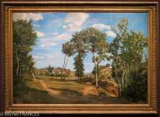 Frédéric Bazille - Paysage du bord du Lez