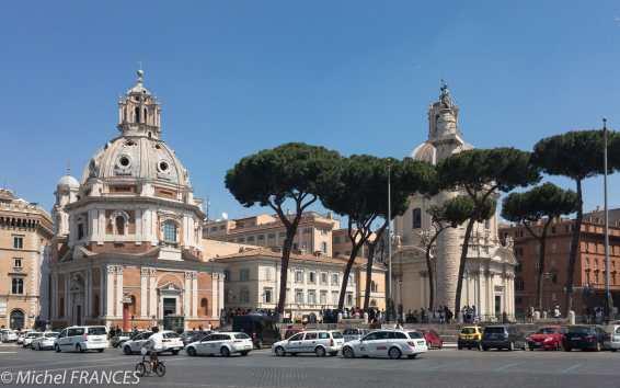 la Piazza de Venezia