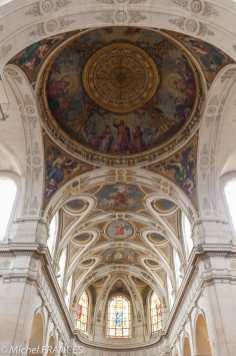Les plafonds de Saint-Roch sont superbes