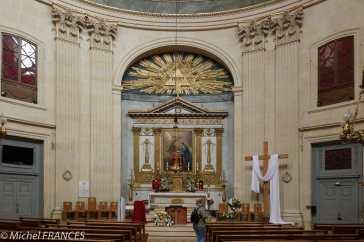 Notre-Dame de l'Assomption - au-dessus de l'autel, Joseph-Marie Vien - L'Annonciation - 1763