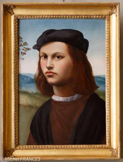 Ridolfo Del Ghirlandaio - Portrait de jeune homme - début du 16ème siècke