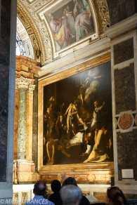 Le Caravage : le Martyre de saint Matthieu.