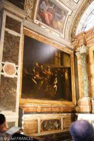 Le Caravage : La vocation de saint Matthieu