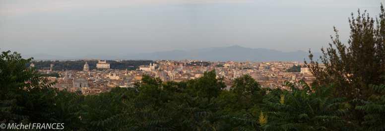 Panorama sur Rome