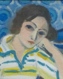 Henri Matisse - Femme au violon - 1921-1923