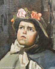Frédéric Bazille Petite Italienne chanteuse de rue - 1866