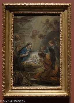 Carle van Loo - L'adoration des Anges - 1750-1751