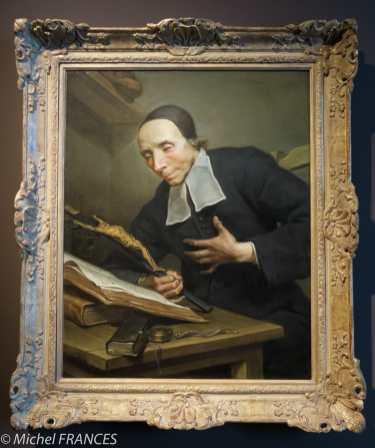 Jean Restout - Portrait de l'abbé Tournus - vers 1734