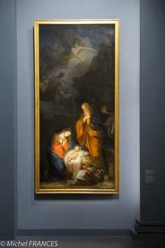Joseph-Benoît Suvée ou Jean-Charles Nicaise Perrin - La Nativité - 1784