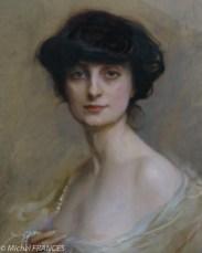 Philipe de Laszlo - La Comtesse Anna de Noailles - 1905