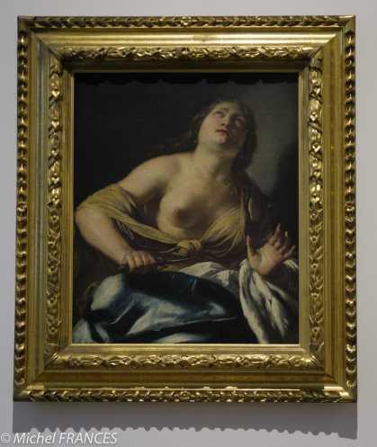 Jacques BLANCHARD - La mort de Lucrèce - première moitié du 17ème siècle