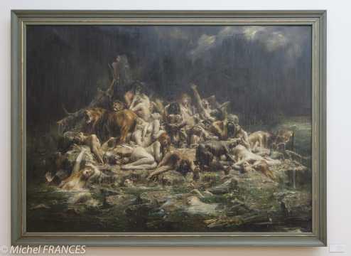 Léon-François COMERRE - Le Déluge - vers 1911