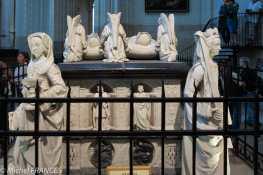 La caveau des parents d'Anne de Bretagne