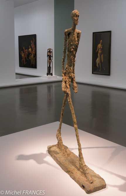 Musée d'art moderne de paris - Expo Derain, Balthus, Giacometti - Alberto Giacometti - L'homme qui marche